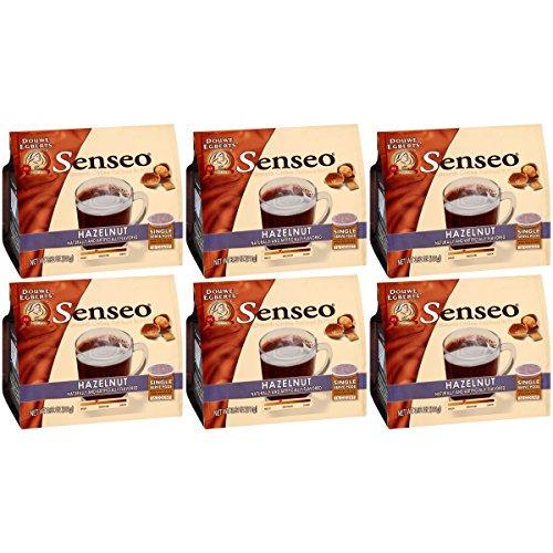 (Senseo Vienna Hazelnut Waltz Coffee, 16-Count Pods, 3.92 Oz (Pack of 6))