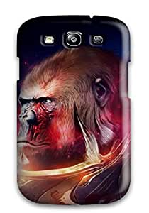 nazi diy Fashionable Style Case Cover Skin For Galaxy S3- Gorilla Drawing