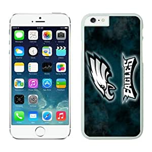 Philadelphia Eagles Case For iPhone 6 White 4.7 inches