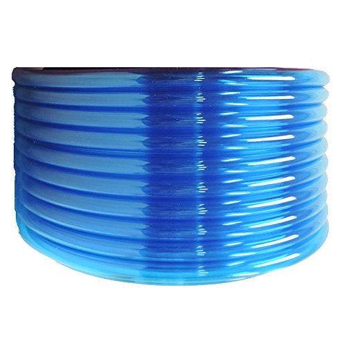 Maxx Flex VinylTubing-B1 Flexible Non-Toxic BPA Free Translucent Colored Vinyl Tubing, Blue, 1