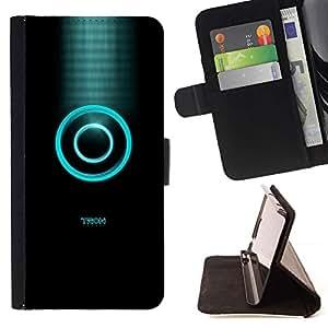 Momo Phone Case / Flip Funda de Cuero Case Cover - Tren;;;;;;;; - Apple Iphone 5 / 5S