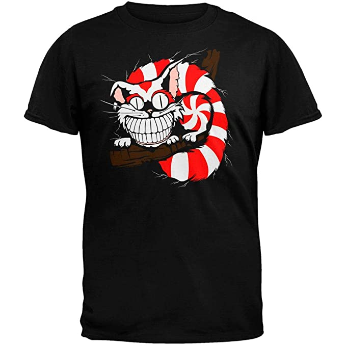 7d9d60b1 Amazon.com: Alice In Wonderland - Cheshire Cat T-Shirt: Clothing