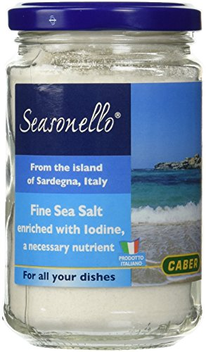 Seasonello Fine Sea Salt by Caber (10.6 ounce)