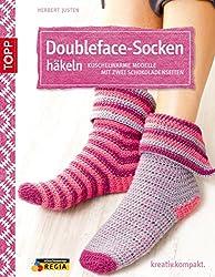 Doubleface-Socken häkeln: Kuschelwarme Modelle mit zwei Schokoladenseiten