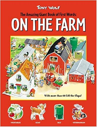 Online books to read free download On The Farm (Amazing Giant Book of First Words) 0762420316 in Italian MOBI