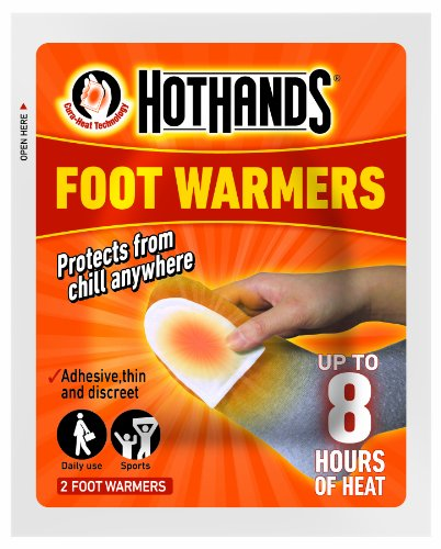 HeatMax Hot Hands Foot Warmers 6 pairs by HeatMax