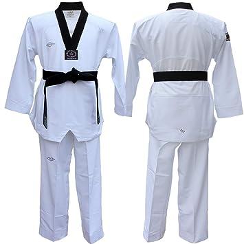 Amazon.com: YES New Fighter Dan Taekwondo Dobok/Taekwondo ...