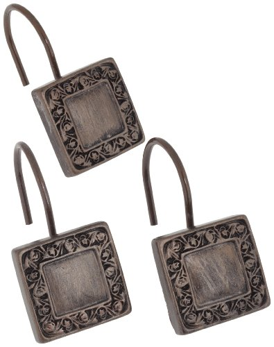 Lakewood Shower Curtain Hooks - Color: Oil Rubbed Bronze