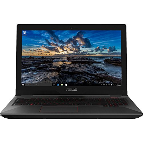 CUK FX503VM Laptop for Gamers (i7-7700HQ, 32GB RAM, 512GB NVMe SSD + 1TB HDD, NVIDIA GTX 1060 3GB, 15.6' Full HD IPS, Windows 10) - 2017 HTC Vive Compatible Notebook Computer for Gamers