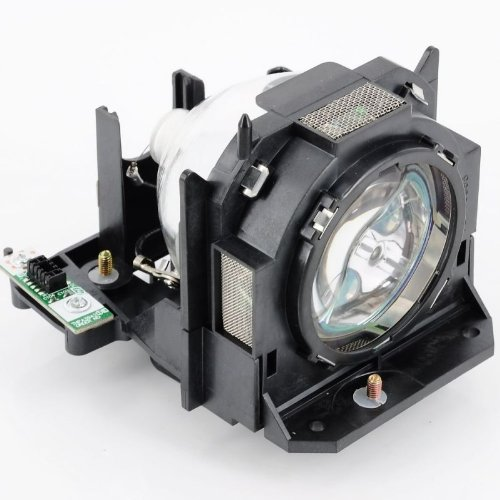 Panasonic ET-LAD60W Twin-Pack Projector Lamp Replacement. Projector Lamp Assembly with Genuine Original Ushio Bulb Inside ()