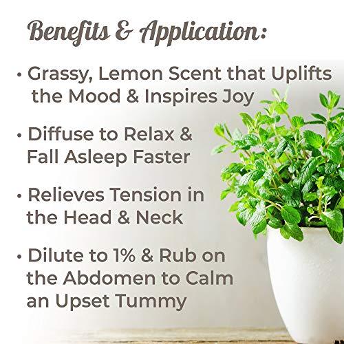 Buy lemon balm essential oil therapeutic grade