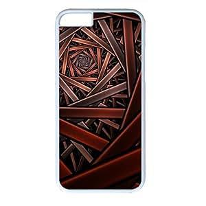 Gorgeous Deaign PC White Case for Iphone 6 Crisscross