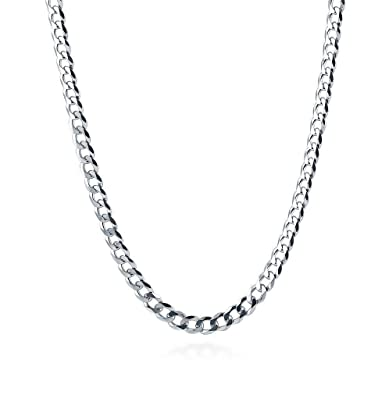 c9092a5af8337 2mm Curb Chain Necklace Sterling Silver 925