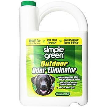 SIMPLE GREEN 432108 Outdoor Odor Eliminator for Dogs, 1 Gallon