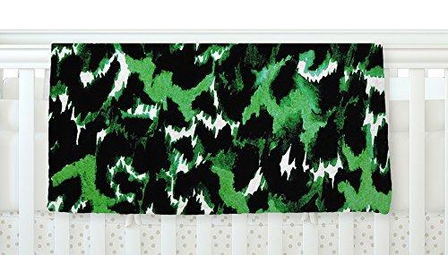 KESS InHouse Ebi Emporium Wild at Heart - Green Emerald Fleece Baby Blanket 40 x 30 [並行輸入品]   B077ZP7S29