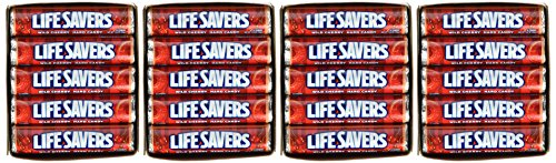 LifeSavers Rolls Wild Cherry 20 Roll Box (Net Wt 1.14 OZ per - Ounce 1.14 Rolls