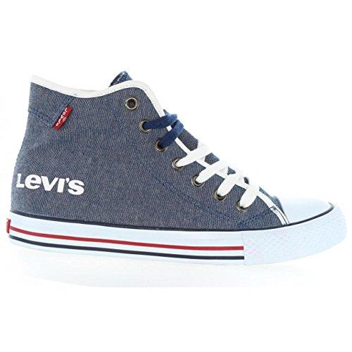 Sneaker für Junge und Mädchen und Damen LEVIS VDUM0001T DUKE MEGA 0040 NAVY