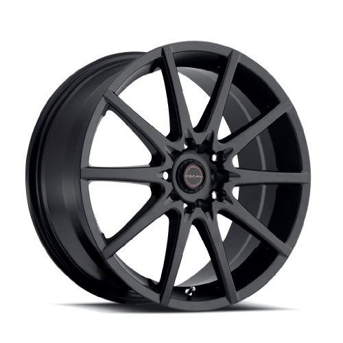 - Focal 428SB F-04 Matte Black Wheel with Painted (16 x 7. inches /4 x 100 mm, 42 mm Offset)