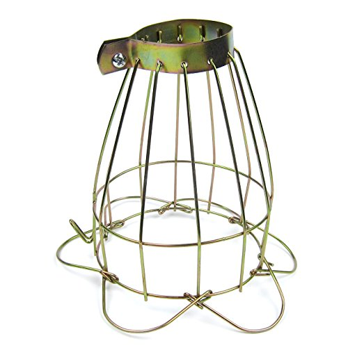 Alfie Pet by Petoga Couture - Hakan Wire Cage Clamp on Lamp Guard for use with Terrariums, Reptiles, Amphibians and Small Animals