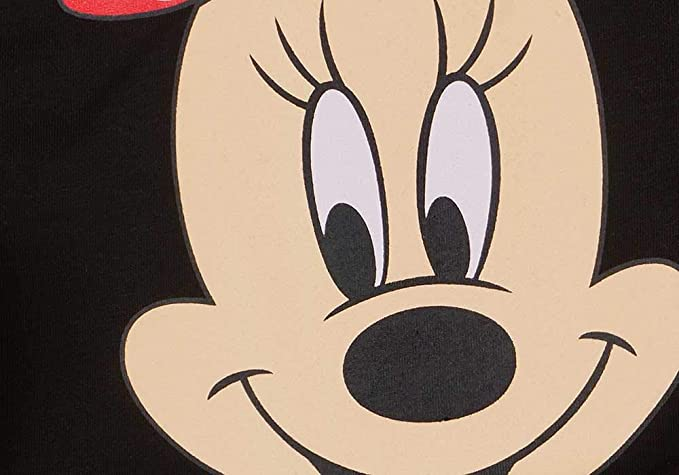 74 80 86 92 98 104 110 116 122,1 2 3 4 5 6 7 Jahre Disney Baby M/ädchen Lang-arm Freizeit-Kleid mit sch/önem Rock mit Minnie Mouse in Gr
