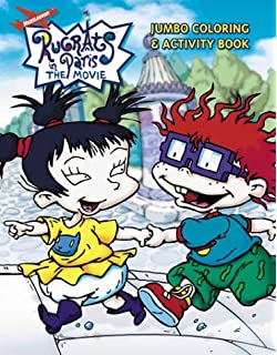 Rugrats: Super Coloring and Activity Book #2: Golden Books ...