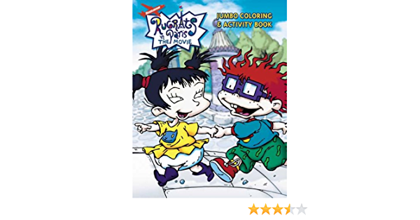 Rugrats In Paris Jumbo Coloring Activity Book Golden Books 0033500407604 Amazon Com Books