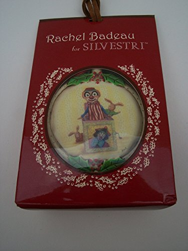 Jack-in-the-Box Clown Christmas Ornament, Rachel Badeau for sale  Delivered anywhere in USA