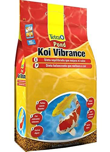 Tetra Pond Koi Vibrance 2,3kg Tetra Para Todos Os Tipos de Peixe Todas As Fases,