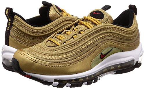 884421700 Gold rosso e GOLD' QS OG logo NIKE Scarpe oro MAX 97 in 'METALLIC AIR 6wAfvgCxq