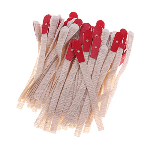 MagiDeal 1 Pack Piano Braid Bridle Straps Piano Tuning Tool for Pianist DIY Kits Red Beige by MagiDeal