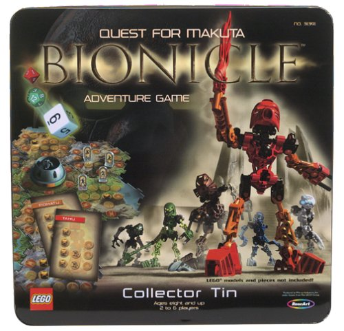 Edition Special Bionicle (LEGO 31391 Bionicle Quest for Makuta Adventure Game - Collector Tin)