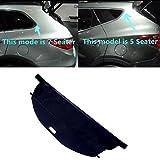 Negro Trasera Tronco sombra carga carcasa para Hyundai Santa Fe Sport para Hyundai Sante Fe XL 201320142015201620172018