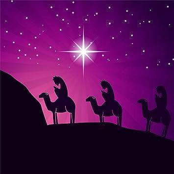 Christmas Jesus Wallpaper.Leyiyi 6x6ft Merry Christmas Jesus Christ Nativity Backdrop Santa Marria Joseph Barn Camels Businessman Cold Night Photography Background Baptism