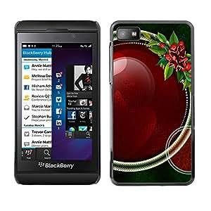 La Celebración Drunken - Metal de aluminio y de plástico duro Caja del teléfono - Negro - Blackberry Z10