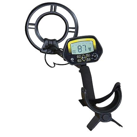 iShinè_Tools Detector de Metales Souterrain portátil Detector de Metal Amateur con Monitor LCD