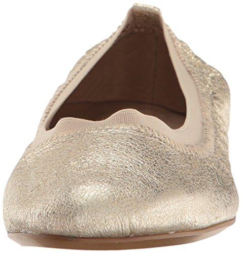 Champagne Fable Leather Flat Aerosoles Ballet Women's 4HaqIa