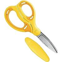 コクヨ ハサミ こども エアロフィットサクサ グルーレス刃 左手用 黄色 ハサ-PL270Y