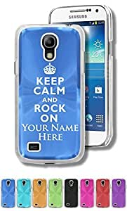 Personalized Case/Cover For Case Iphone 6Plus 5.5inch Cover Mini - KEEP CALM AND ROCK ON - Engraved for FREE