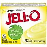 jello lemon pie filling - JELL-O Lemon Instant Pudding & Pie Filling Mix (3.4 oz Box)