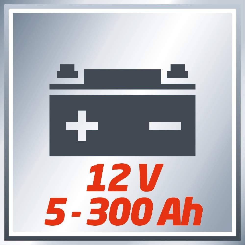 Einhell cc-bc 22/E Akku-Ladeger/ät 230/V Ladekabel 12/V rot