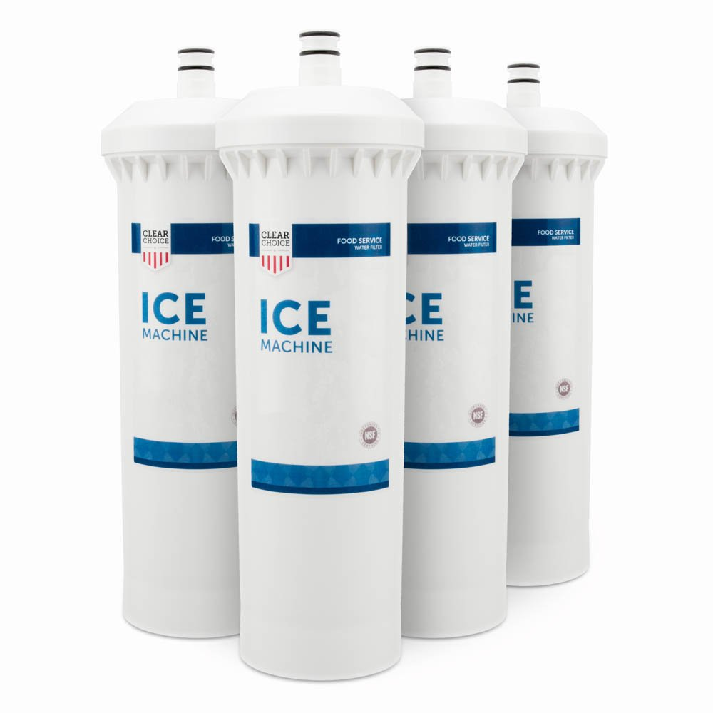 Clear Choice Ice Filtration System Replacement Cartridge for CUNO 55600-01 55600-09 AP500 AP510 AP51706 AP522 CFS517 CS-61 CS500 Also Compatible with 3M 70020015189 70020041458 70020041466, 4-Pack