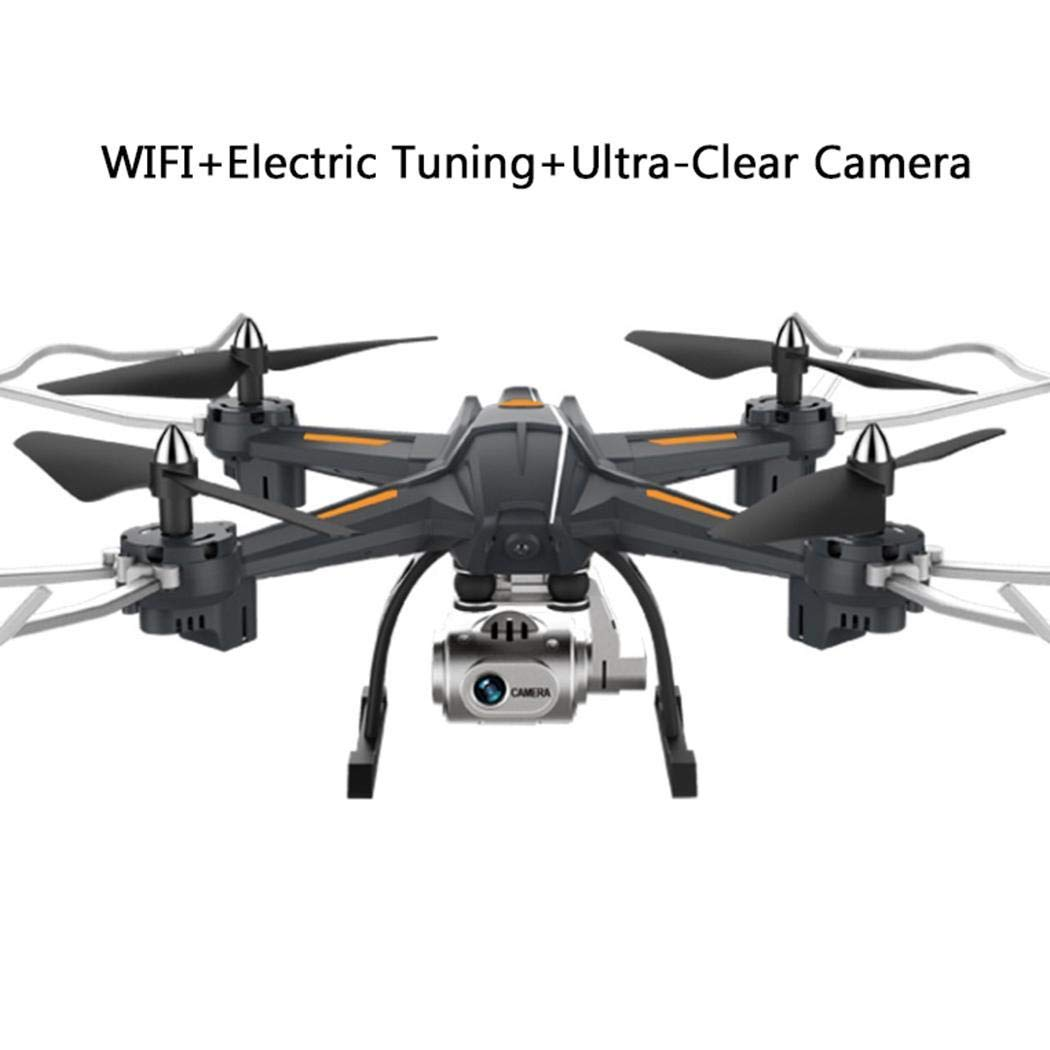 Detailorpin Professional High Definition Remote Control Aircraft Toys Four-Axis Drone