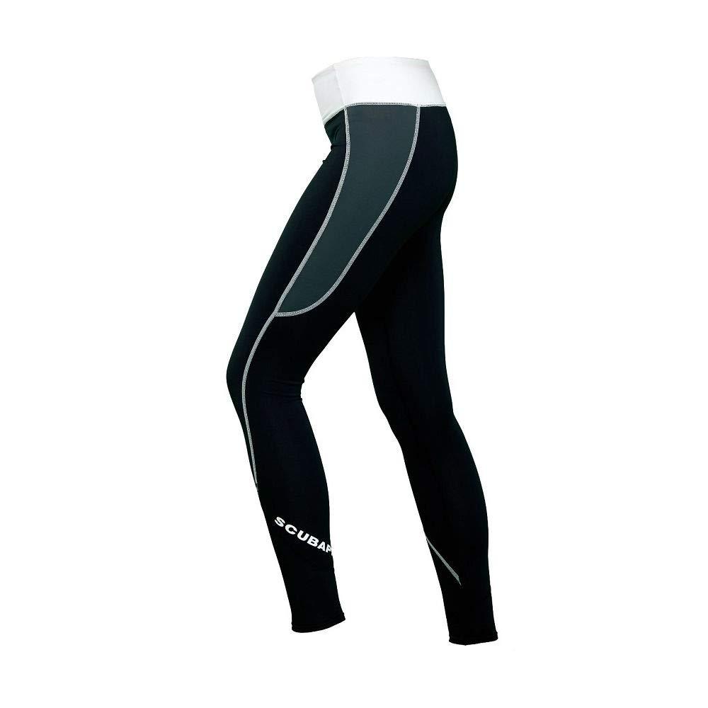 ScubaPro Women's UPF 80 T-Flex Leggings (X-Large, Graphite) by SCUBAPRO