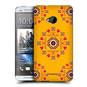 Head Case Designs Flowers and Hearts Kaleidoscope Bohemian Patterns Protective Snap-on Hard Back Case Cover for HTC One