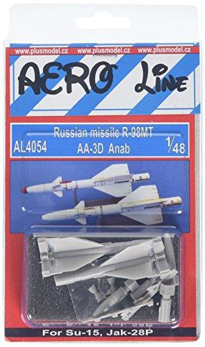 PLUS MODEL(プラスモデル) 1/48 露空対空ミサイルR-98MT・2発 プラモデルの商品画像