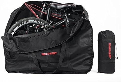LKN Bolsa de almacenamiento plegable para bicicleta con bolsa de transporte, S04234, 40,6 cm, color negro.: Amazon.es: Deportes y aire libre