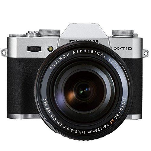 Fujifilm X-T10 Fotocamera Digitale con XF18-135 MM F3.5-5.6 R LM OIS WR Obiettivo Zoom, Argento product image