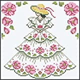 Herrschners Southern Belle Quilt Blocks Stamped Cross-Stitch Kit
