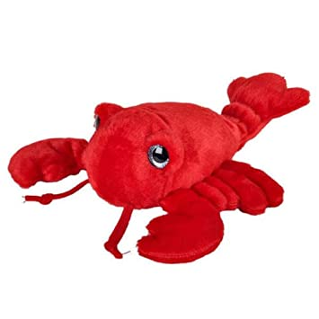Amazon Com Sparkle Eye Red Lobster 9 Inch Stuffed Animal Toys Games
