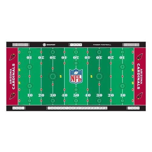 - Zelosport Boys Nfl Licensed Finger Football Game Mat(Cardinals Finger Football)